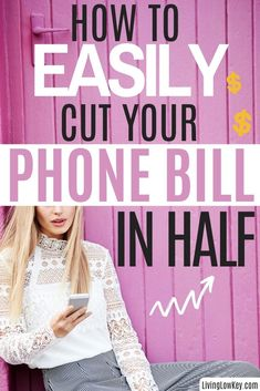 Are you ready to cut your cell phone bill in half? This easy tip will save you hundreds each year. If you are looking to save money by cutting bills this is the way to do it. #savemoneyonbills #waystosavemoney #howtosavemoney Best Money Saving Tips, Ways To Save Money, Money Tips, Saving Money, No Spend Challenge, Money Saving Challenge, Budgeting Finances, Budgeting Tips, Cash Envelope System