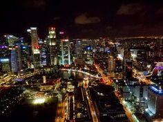 My beautiful country by night #Singapore
