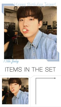 """""""Happy Birthday Jasper!!"""" by onyxofficial ❤ liked on Polyvore featuring art"""