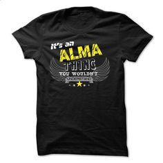 If your name is ALMA then this is just for you - #thank you gift #cute gift