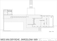 barcelona pavillon dwg - Google-Suche
