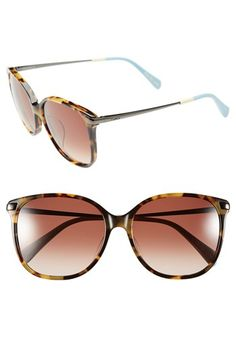 TOMS 'Sandela' 56mm Sunglasses available at #Nordstrom