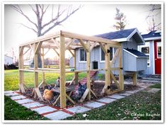 Check out this coop designed to house 12 hens.  FarmMade celebrates urban and rural chicken keepers!