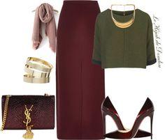 Hijab Outfit | Modest Wear | Combination Look | Link : http://lehijabdedoudou.wordpress.com/