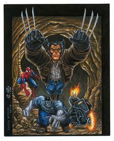 New Fantastic Four by Arthur Adams