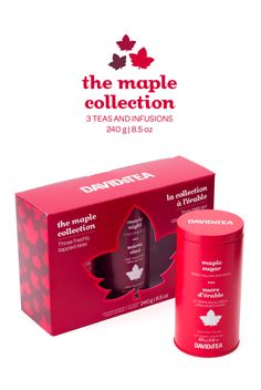 FALL 2014 - A collection of three maple-sweetened teas, in a limited edition box.