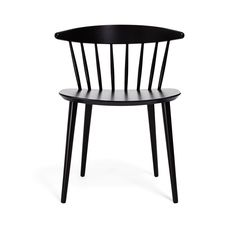 This Danish-made modern version of a Windsor chair has a small footprint making it a versatile choice for almost any space - Object Lesson: Windsor Chair
