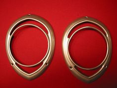 WILLYS 1941 Headlight Buckets and Bucket adaptor rings, 8 pc set. 2 Each, Adaptor rings and 2 buckets. Hand laid fiberglass buckets. Kosmosky crome painted Bezels and New hard plastic lenses with hardware. | eBay!