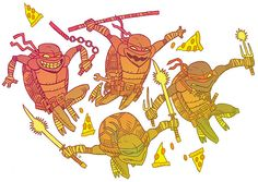 Ninja turtles. #teenage #mutant #ninja #turtles