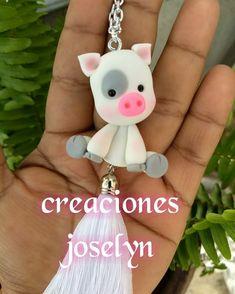 Cute Polymer Clay, Polymer Clay Projects, Polymer Clay Charms, Diy Clay, Polymer Clay Jewelry, Clay Crafts, Cute Henna, Clay Keychain, Clay Ornaments