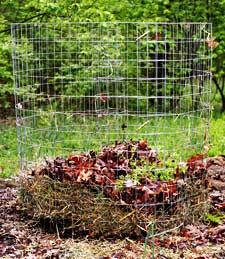 Just started mine, used some old wood beams - Your compost bin--even as simple as one crafted out of chicken wire--will help you give back to the earth and grow better, healthier plants Great Wide Open, Ranch Life, Organic Matter, Chicken Wire, Hobby Farms, Farm Gardens, Wood Beams, Old Wood, Gardening Tips