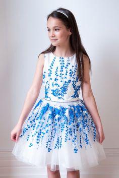 1e7fcbb1fc8ef Girls Designer Dresses. Spring Summer 2018. David Charles.