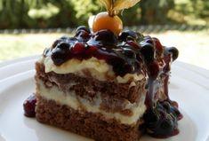 Slovak Recipes, Czech Recipes, Baking Recipes, Dessert Recipes, Sweet Cakes, Pavlova, Aesthetic Food, No Bake Cake, Sweet Recipes