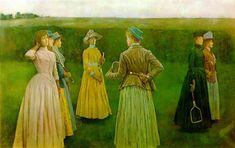 Memories or Lawn Tennis - Fernand Khnopff