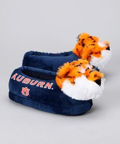 WAR EAGLE!!  Take a look at this Blue Auburn Mascot Slipper by Blow-Out on #zulily today!