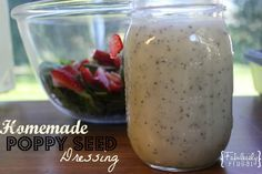 Poppy+Seed+Dressing+is+perfect+for+a+summer+salad%21+I+love+this+homemade+recipe%21