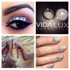 Vida Lux Cosmetics by Evelyn Lozano. Color Me Beautiful, Hello Beautiful, Beautiful Person, Evelyn Lozada, Dramatic Eyes, Glitter Wedding, Eye Make Up, Makeup Tools, Lashes