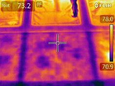 Water Intrusion in Fiberglass lamiates Thermal Imaging, Water, Gripe Water, Aqua