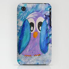 Guin iPhone Phone Case for the Penguin by HylaWaldronArtist
