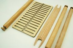 DIY weaving kit backstrap loom rigid heddle loom by hoboholidays