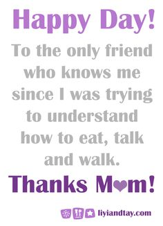 Happy Mother's Day!!!