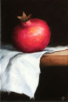 Pomegranate, still life, ready to hang by Jane Palmer Pomegranate Art, Veggie Art, Art Paintings For Sale, Fruit Painting, Pomegranates, Fruit Art, Autumn Art, Cool Drawings, Watercolor Paintings
