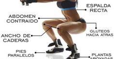 10 tipos de sentadillas para maximizar tu entrenamiento de piernas