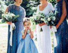 Check out the stunning work of creative Dublin wedding photographer Larry McMahon. Royal Blue Bridesmaids, Bridesmaid Dresses, Wedding Dresses, Beautiful Gowns, Wedding Portraits, Retro Fashion, Real Weddings, The Selection, Diy