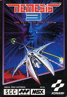 Nemesis 3 (front) for MSX.