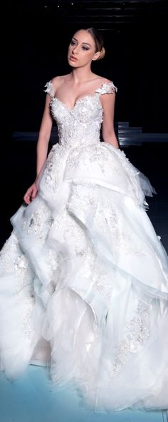 Ysa Makino textured ball gown #meamarie