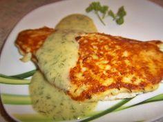 Fischfilet mit Kartoffelhaube, Fish fillet with potato hood