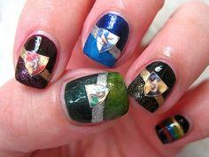 Harry potter nails!! :)