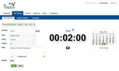 Flapps.com Online Time Tracking