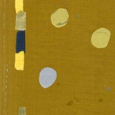 Nani IRO Sound Circle Mustard Double Gauze