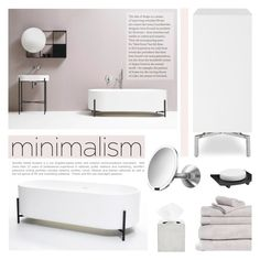 """""""Untitled #1071"""" by valentina1 ❤ liked on Polyvore featuring interior, interiors, interior design, home, home decor, interior decorating, simplehuman, Mitchell Gold + Bob Williams, Ex.t and Hotel Collection"""