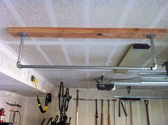 Home made pull-up bar
