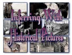 Inferring With Historical Pictures - Literacy Center BUNDLE. WHAT'S INCLUDED IN THIS BUNDLE: *51 historical images from the Public Domain *Student printable *Directions for teachers *Directions for students *Rubric for scoring *5 pages + 51 images to print = 56 PAGES!   #inference #literacycenter #bundle #criticalthinking