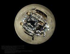 El rover Yutu en una proyección pequeño planeta