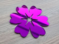 Sticker oglinda floare mov Cookie Cutters, Stickers, Color, Colour, Decals, Colors