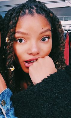 Little Mermaid Doll, Mermaid Dolls, Dreadlock Hairstyles, Cool Hairstyles, Chloe Halle, Pretty Hurts, Black Girl Aesthetic, Model Pictures, Locs