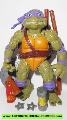 teenage mutant ninja turtles DONATELLO movie star Don complete 1991 vintage tmnt