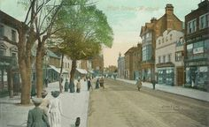 High Street in Watford, England, my Dad was from here