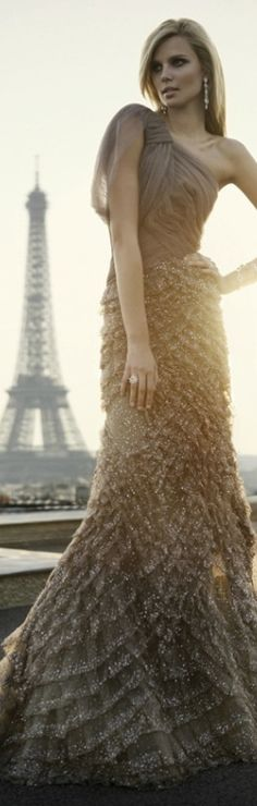 ♕ Love in Paris ♕  {Paris}  ELIE SAAB