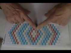 Triangulation - Dimensional Beaded Triangles - YouTube
