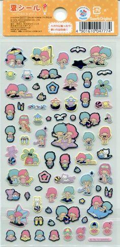【2012】Stickers ★Little Twin Stars★