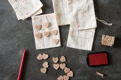 DIY Valentine | Tic-Tac-Toe Board | Magnolia Homes | Bloglovin'