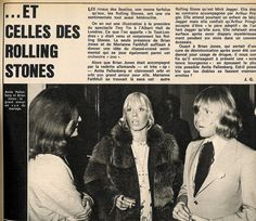 Rolling Stone Brian Jones and girlfriend model Suki Poitier, circa 1968