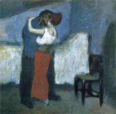 Pablo Picasso, L'abbraccio (The Embrace), 1900, Mosca, Pushkin Museum of Fine Arts