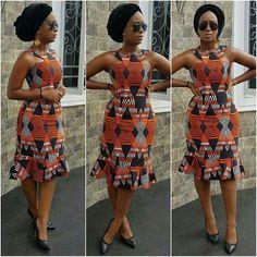 Creative Ankara Gown Style for Ladies - DeZango Fashion Zone