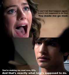 Skins- generation Effy and Freddie Skins Quotes, Tv Quotes, Movie Quotes, Life Quotes, Best Tv Shows, Best Shows Ever, Favorite Tv Shows, Series Movies, Movies And Tv Shows